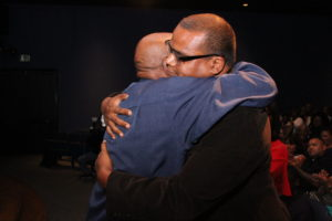 Lou Gossett Jr and Satie Gossett at Screening of Forgiveness