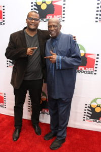 Lou Gossett Jr and Satie Gossett at Screening of Forgiveness Red Carpet